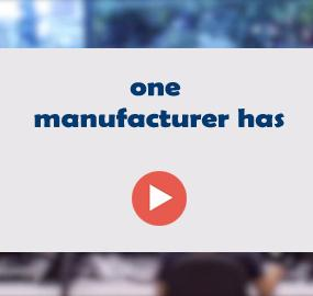 one manufacturer has