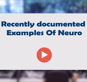 Recently documented Examples Of Neuro