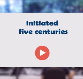 initiated five centuries