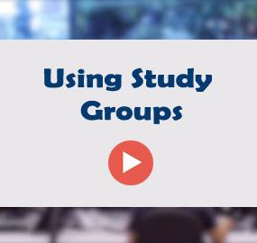 Using Study Groups