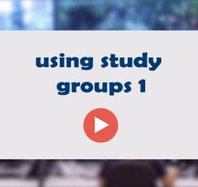 using study groups 1