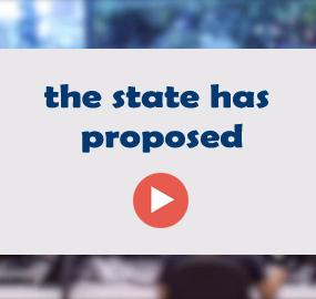 the state has proposed