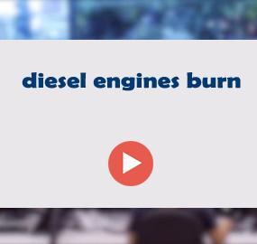 diesel engines burn