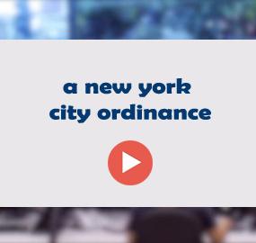 a new york city ordinance