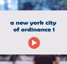 a new york city of ordinance 1