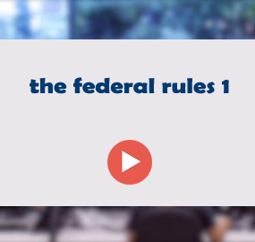 the federal rules 1